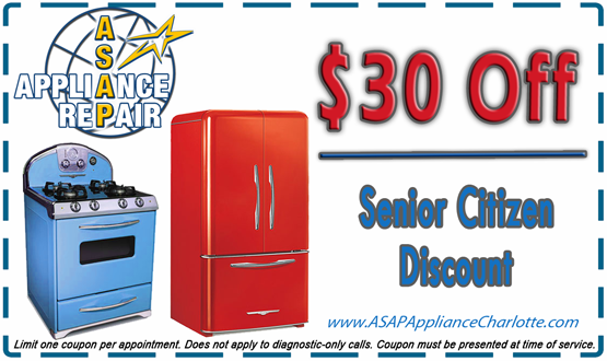 Appliance Repair Promotions Asappliance Repair